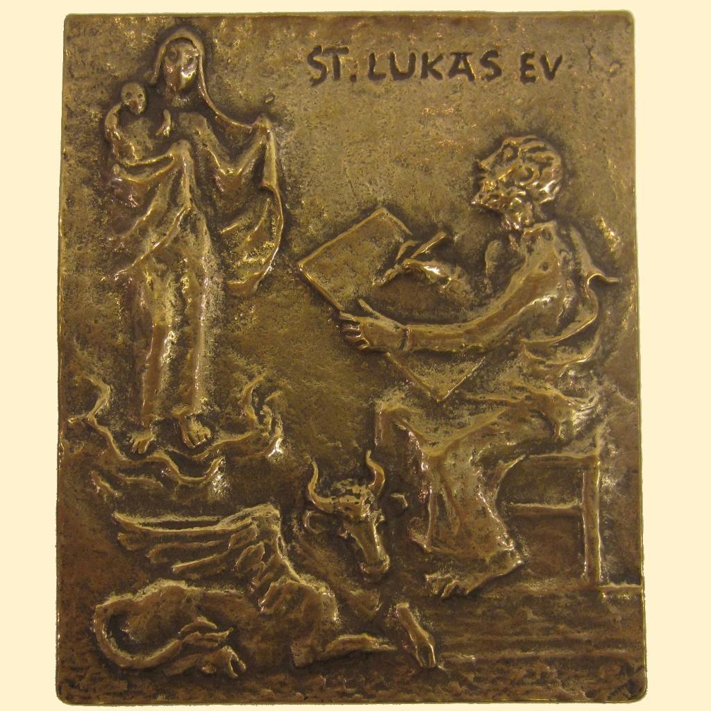 Plaquette - St. Lukas
