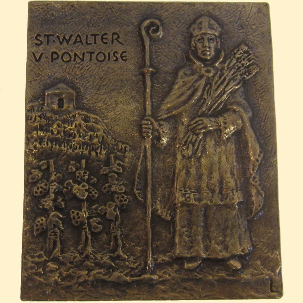 Plaquette - St. Walter
