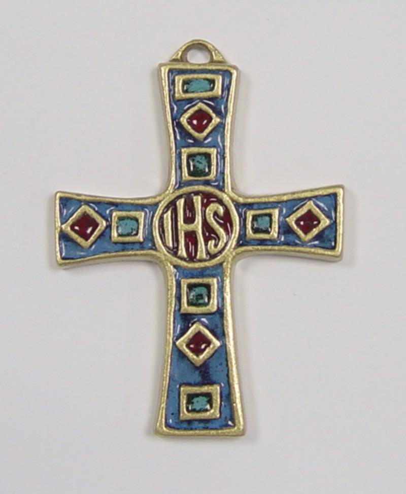 Bronzen kruis - 17