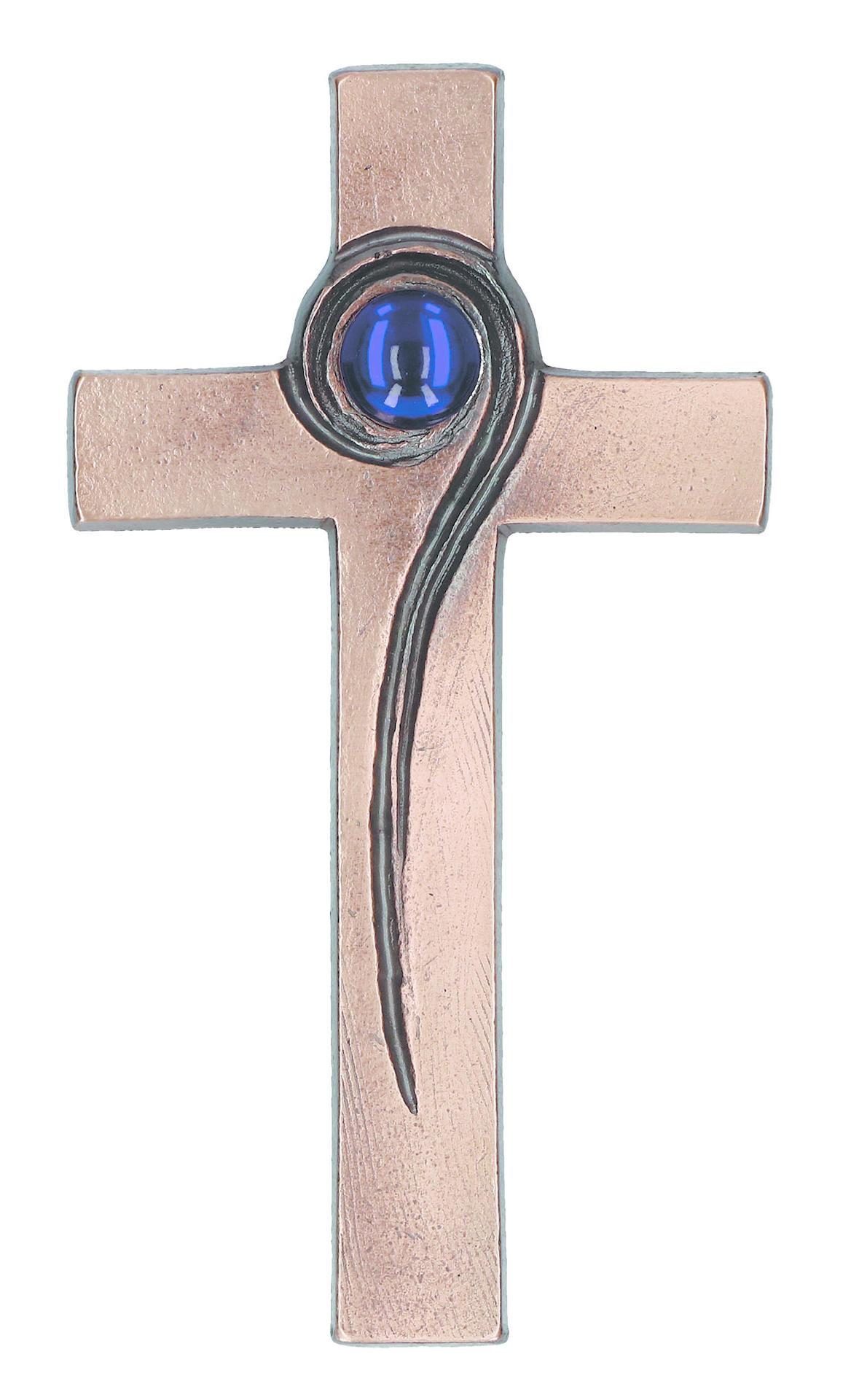 Bronzen kruis - 16