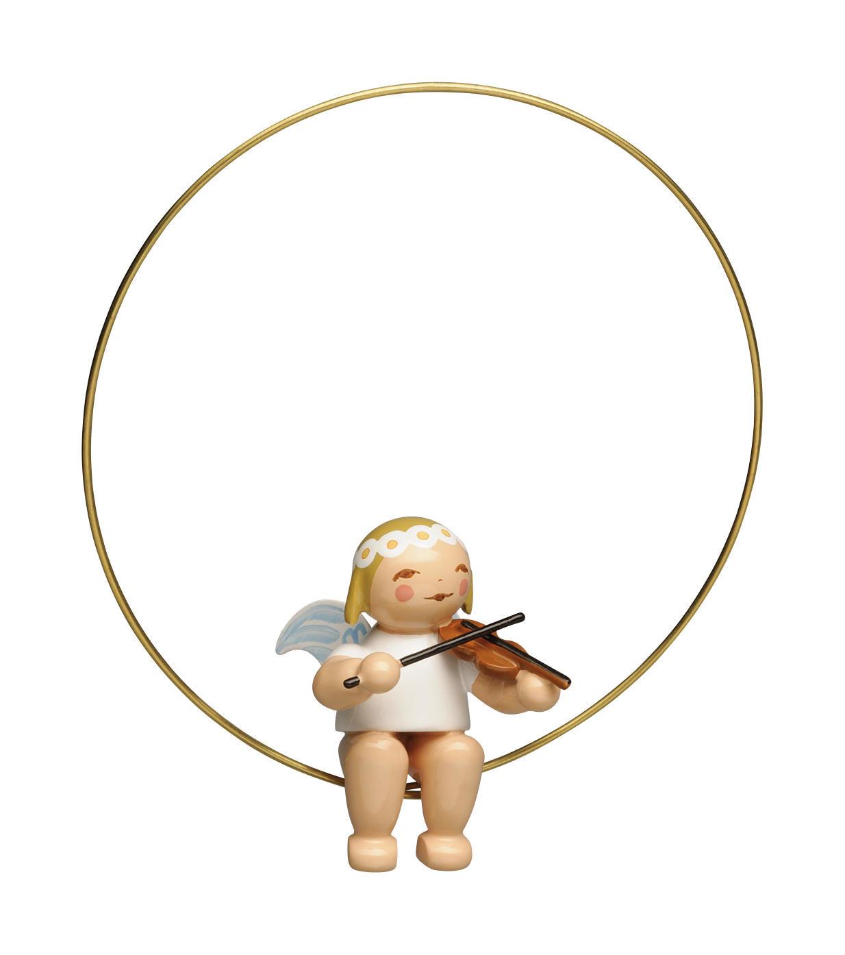 Engel met viool - ring