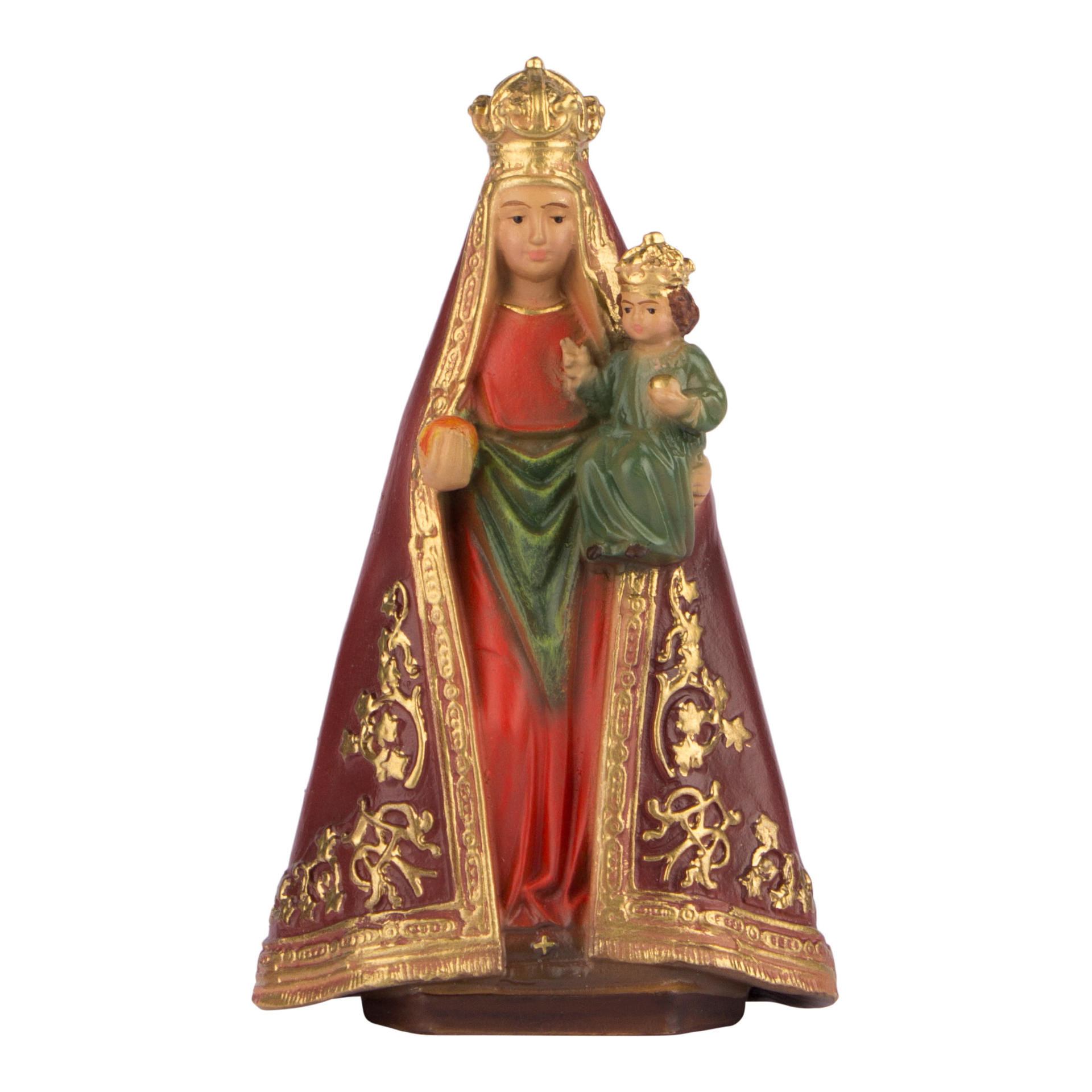 Onze Lieve Vrouw geperst hout - 10 cm