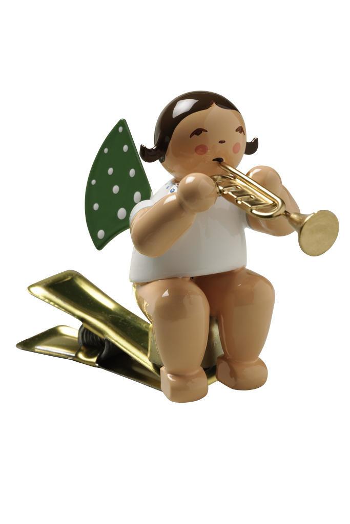 Engel met trompet - knijpertje