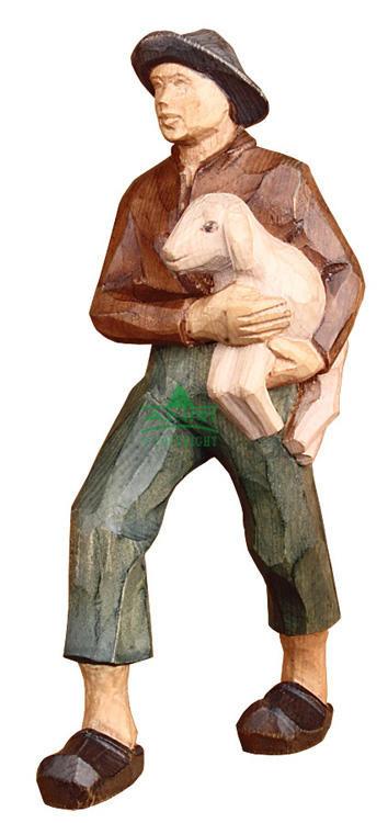 Stevia Kerstgroep - herder met schaap