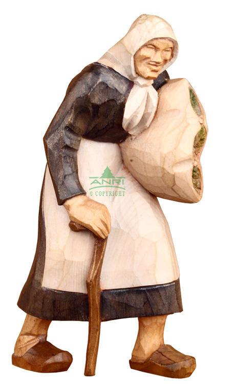 Stevia Kerstgroep - herderin met stok