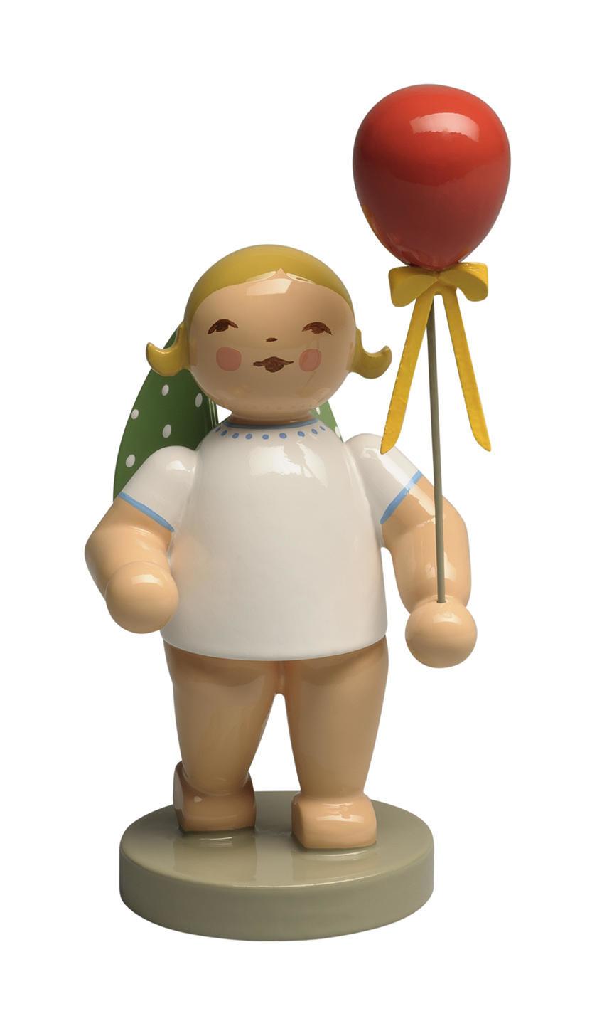 Engel met rode ballon - blond