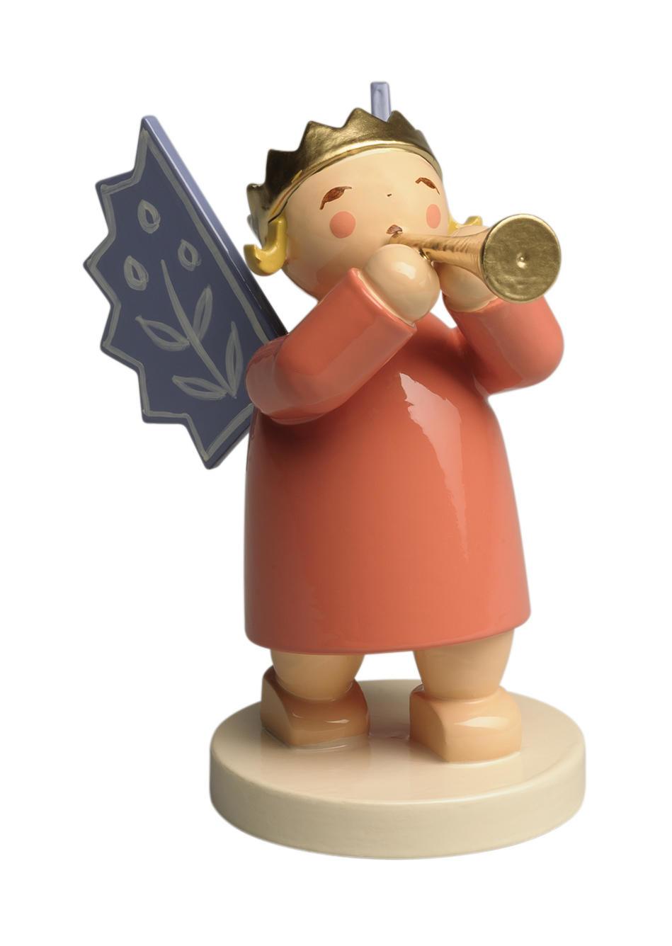Kroonengel - gouden fluit