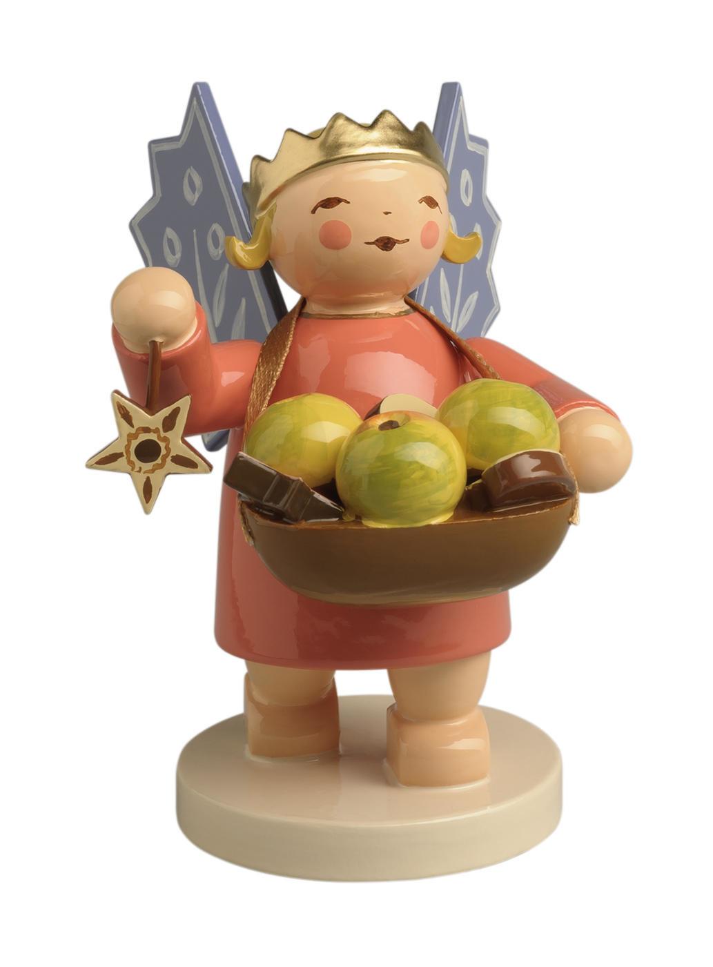 Kroonengel - appeltjes en ster
