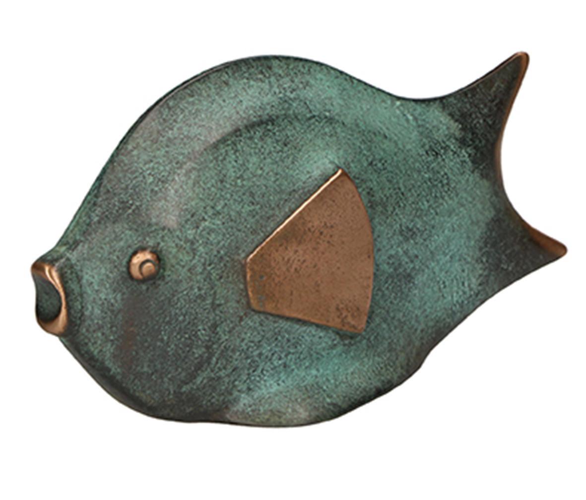 Bronzen beeld - vis