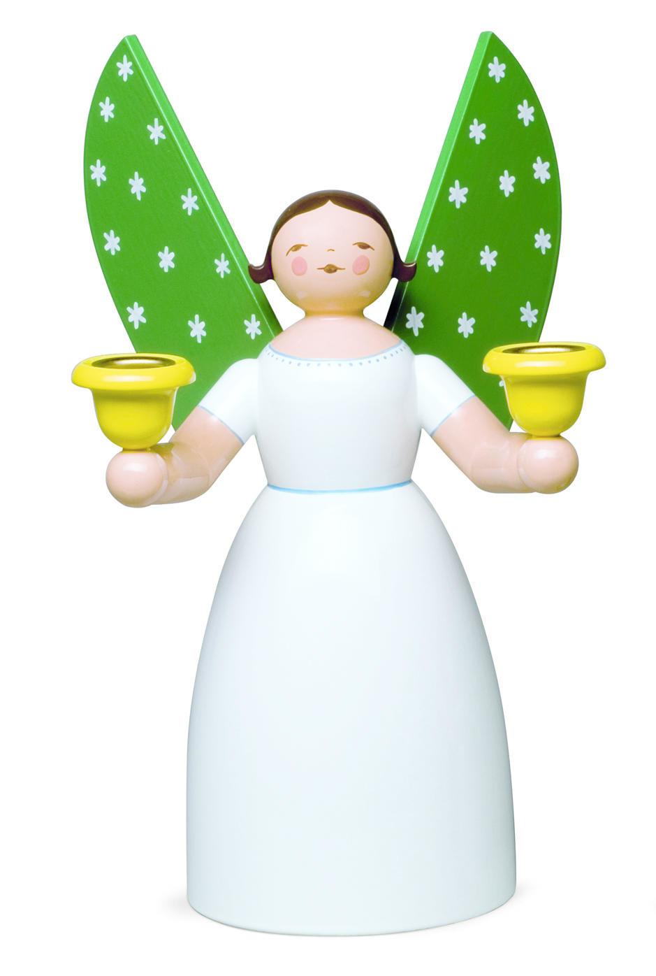 Witte engel - 21 cm