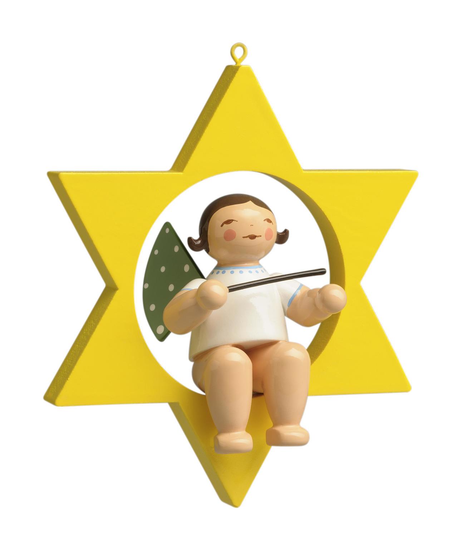 Engel met dirigeerstok - kleine ster