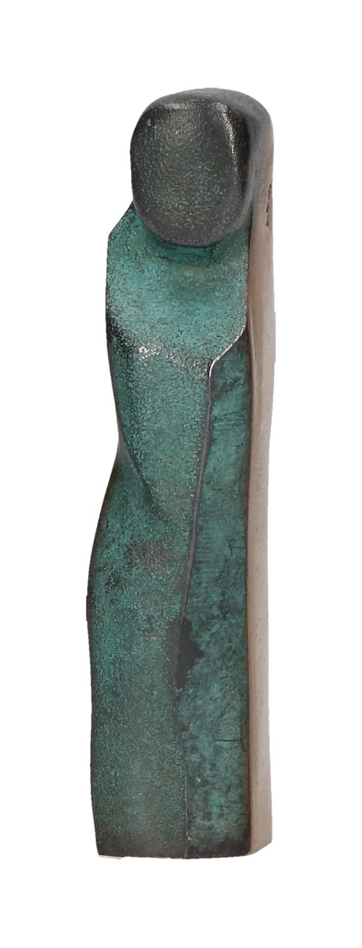 Bronzen beeld - kindfiguur 7,5 cm.