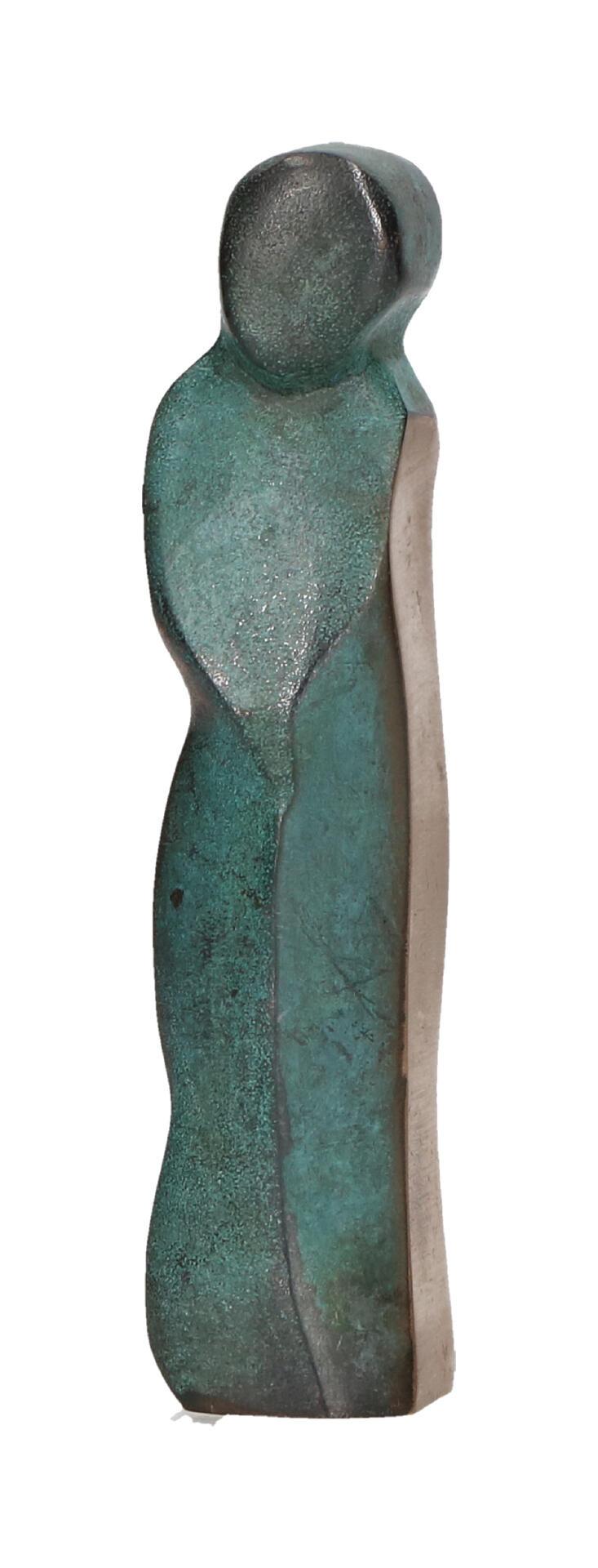 Bronzen beeld - kindfiguur 8,5 cm.