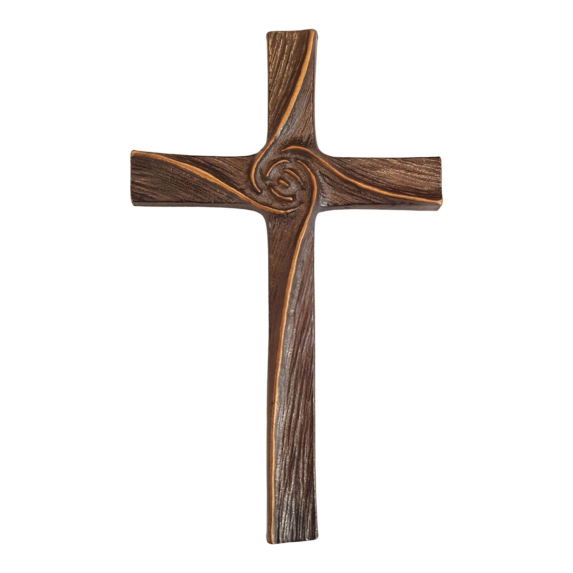 Bronzen kruis - 32