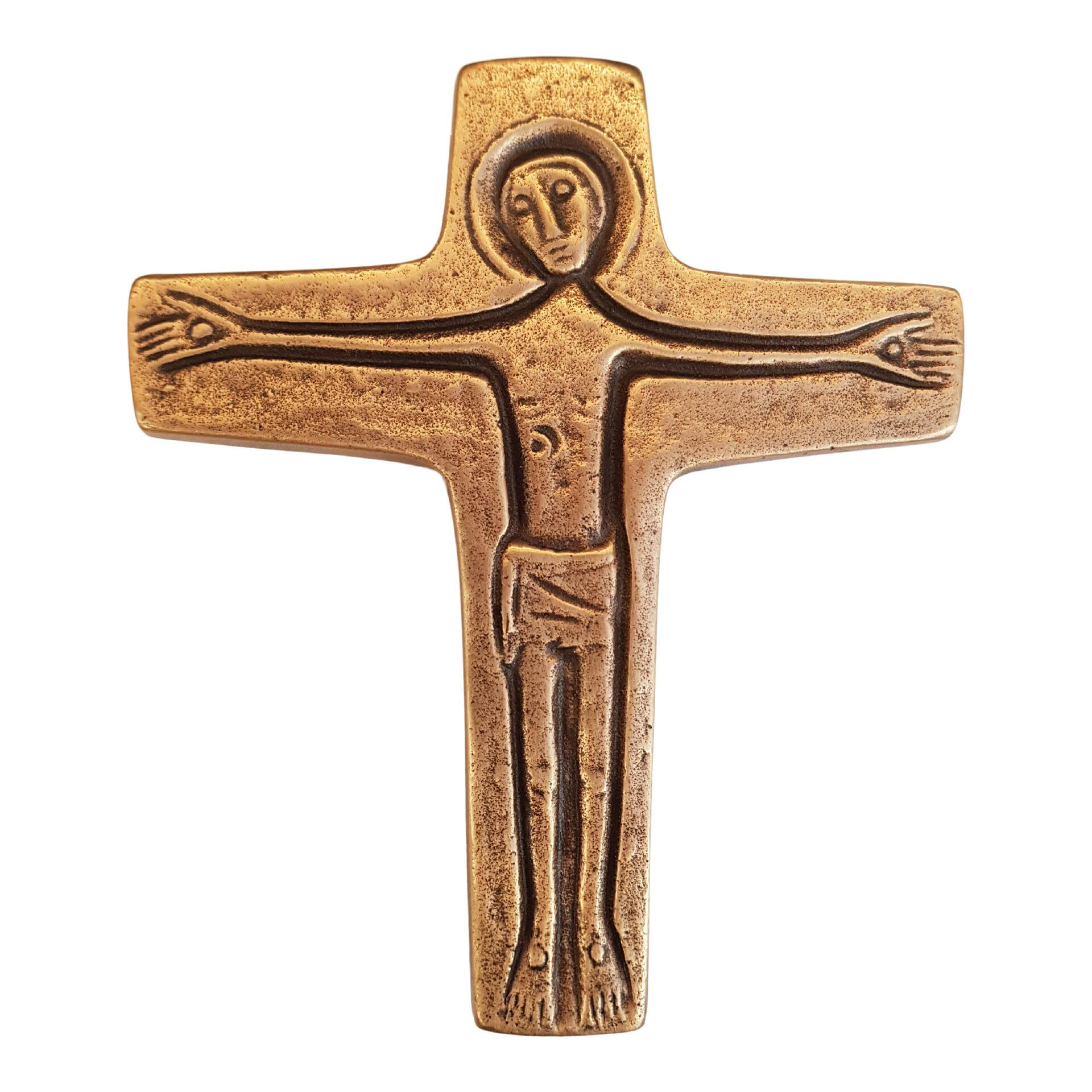 Bronzen kruis - 30