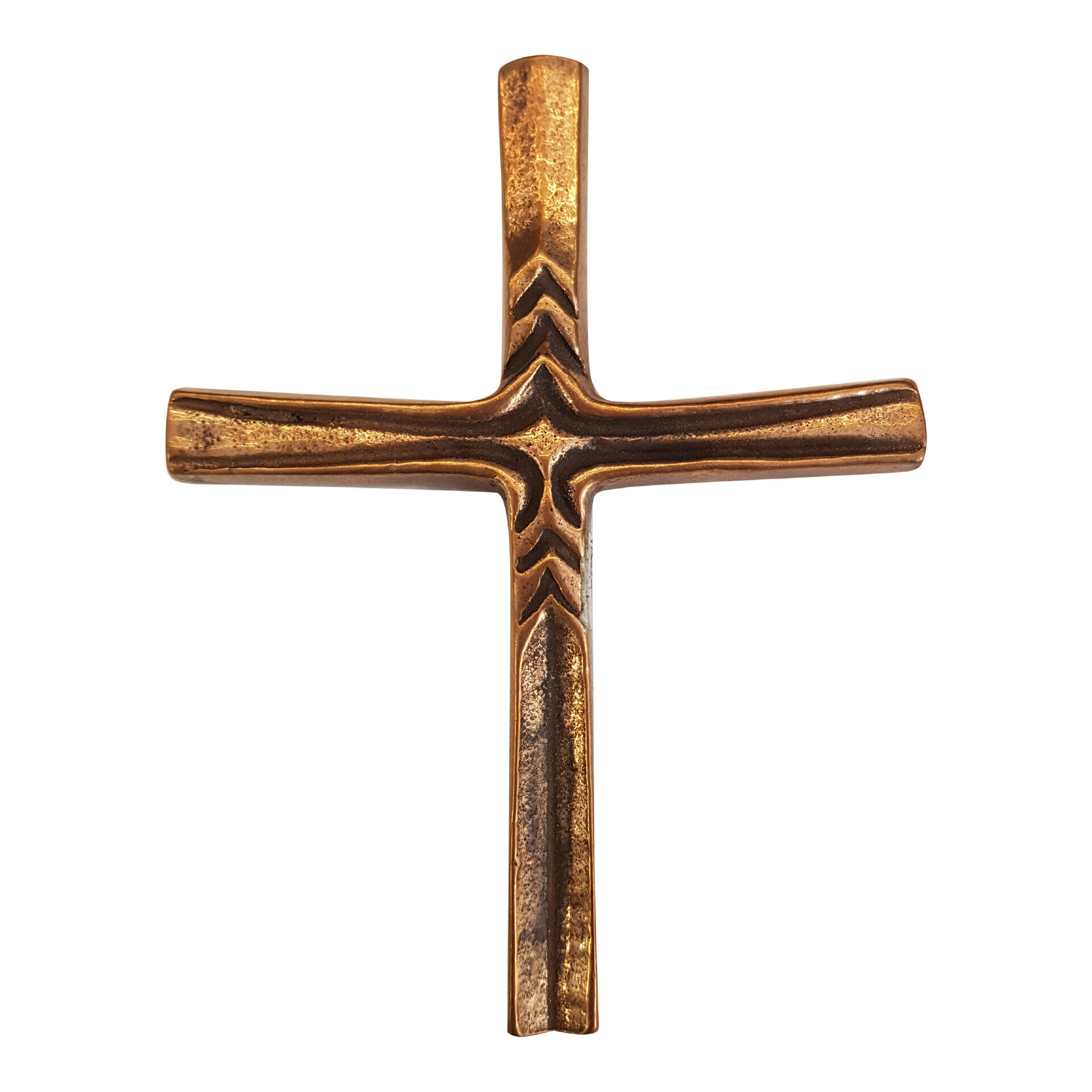 Bronzen kruis - 38
