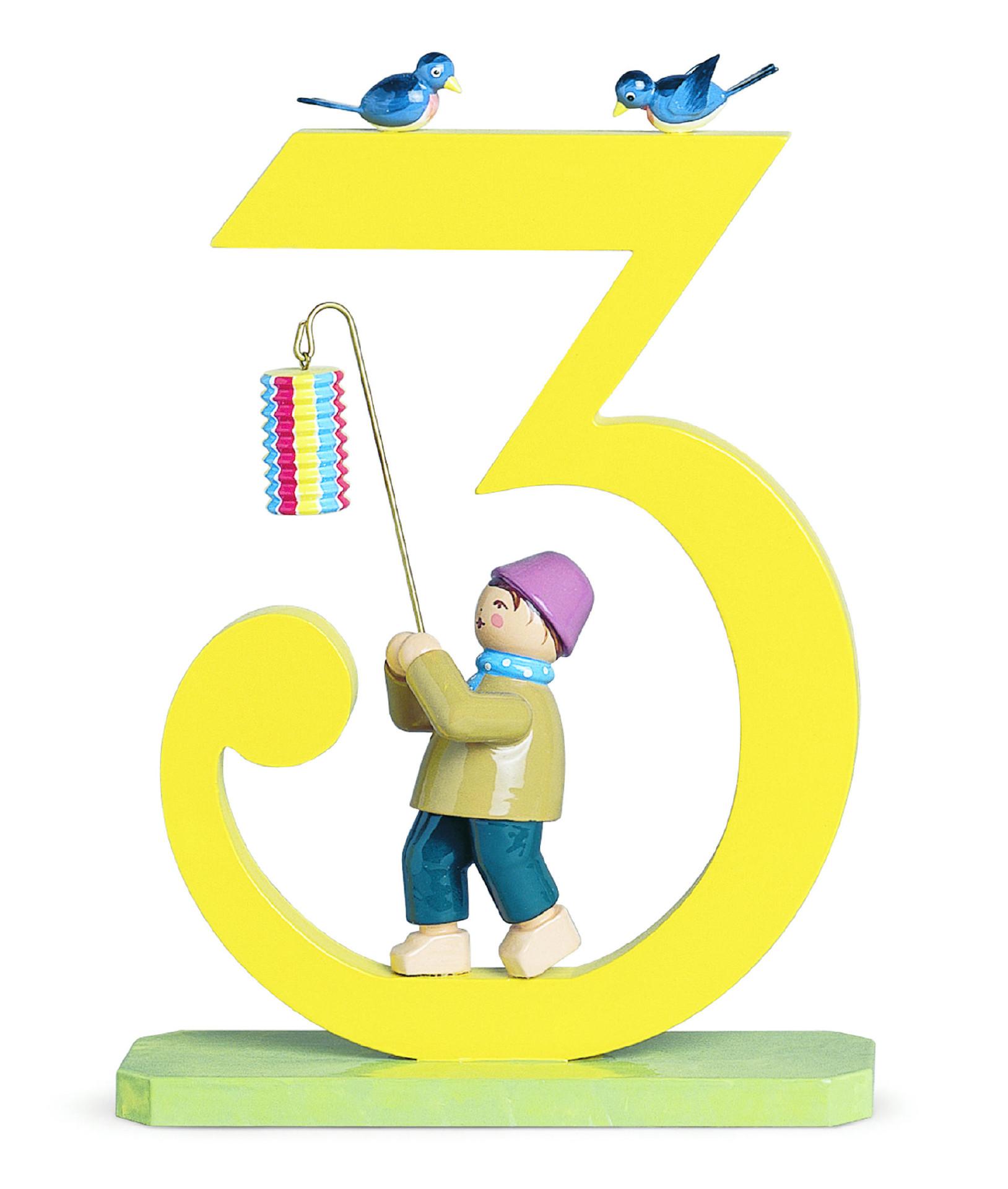 Jongen - cijfer 3