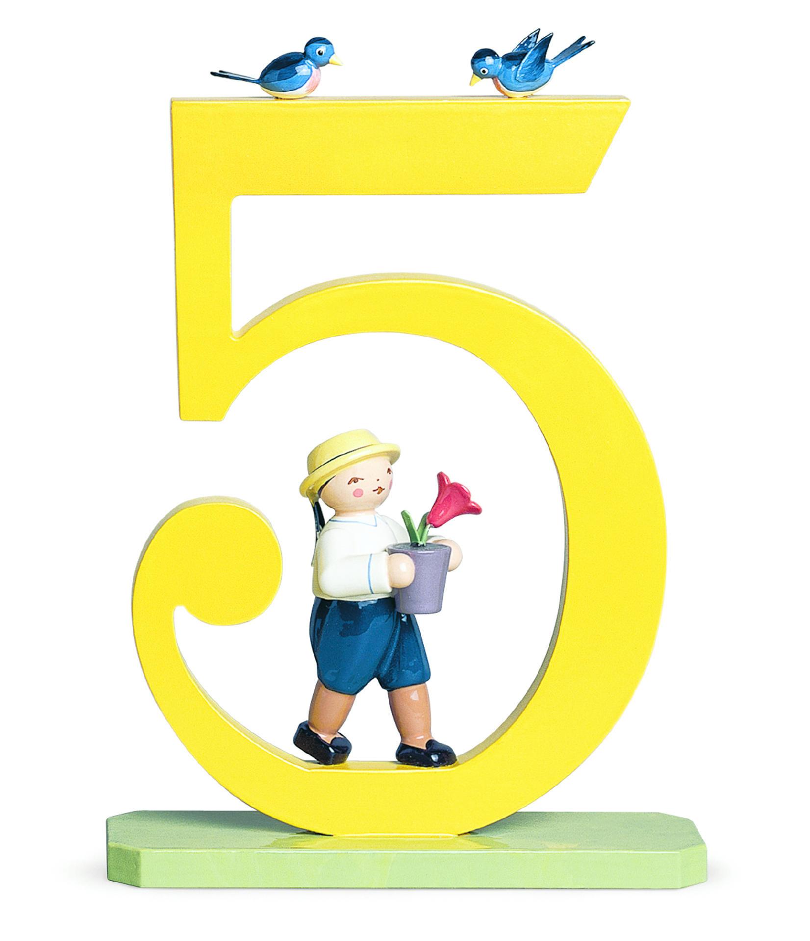 Jongen - cijfer 5