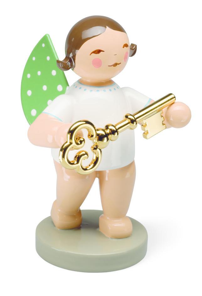 Engel met gouden sleutel