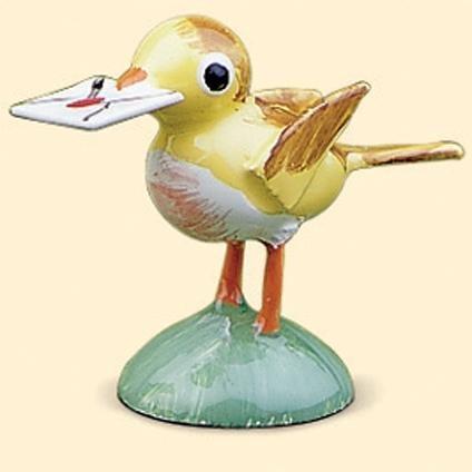Vogel geel - klein