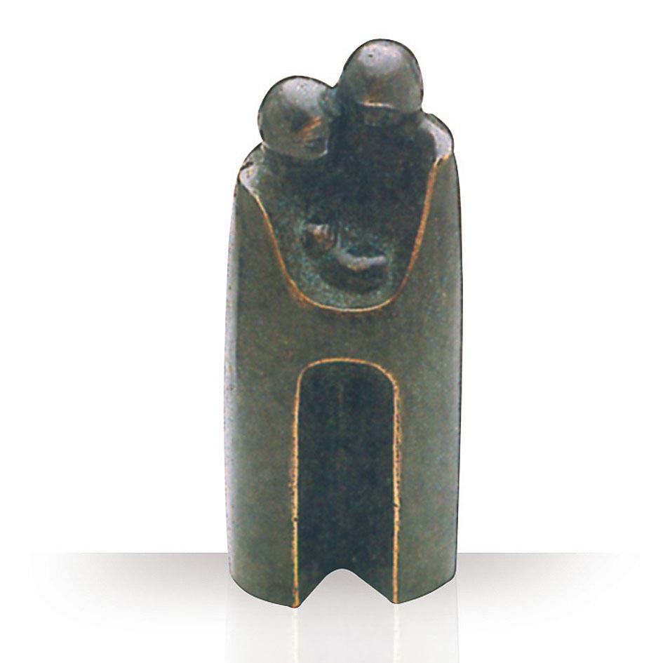 Bronzen beeld - Familie