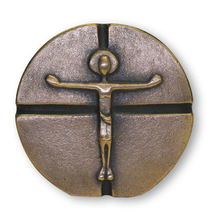 Bronzen kruis - 18