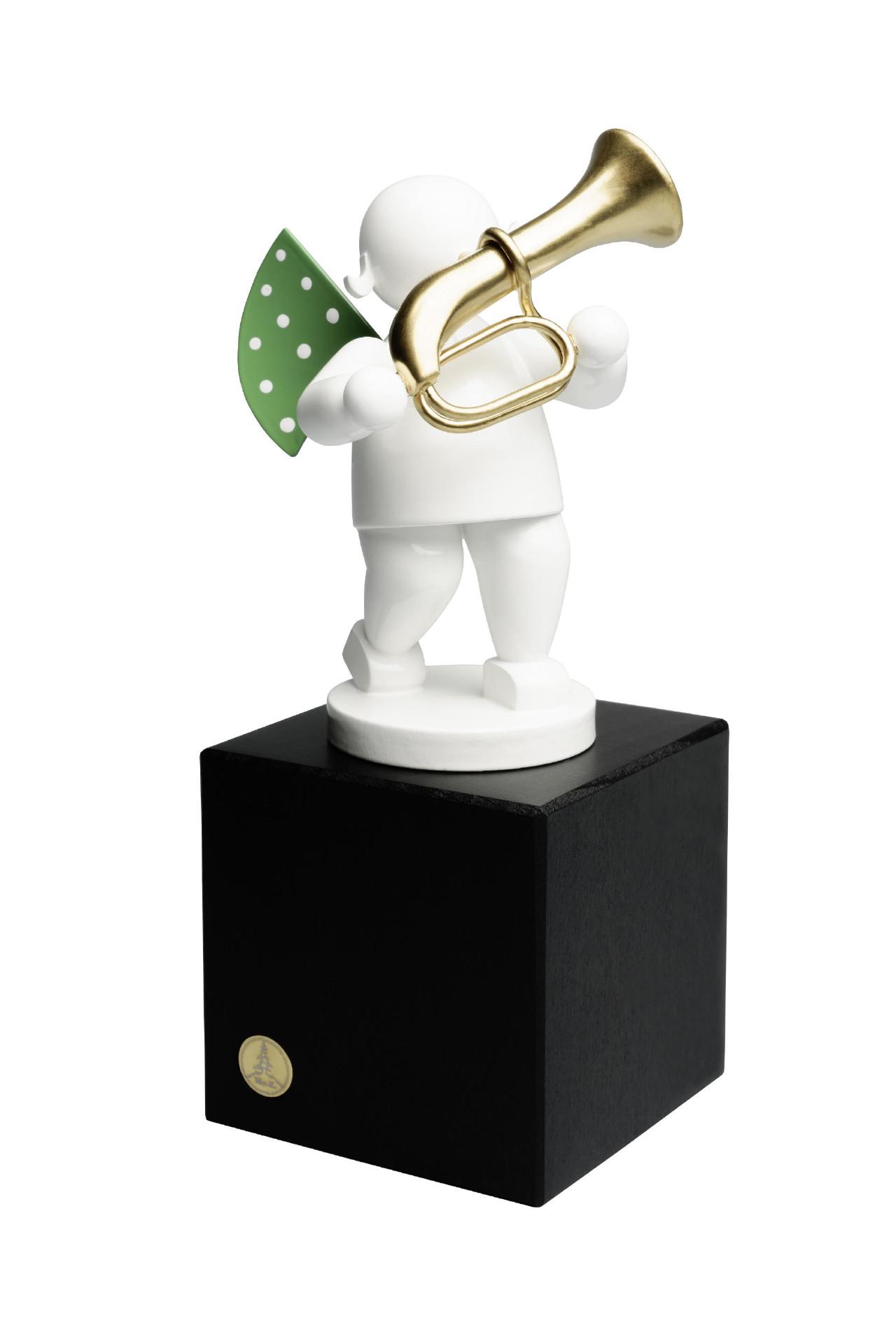 Witte engel - bastrompet