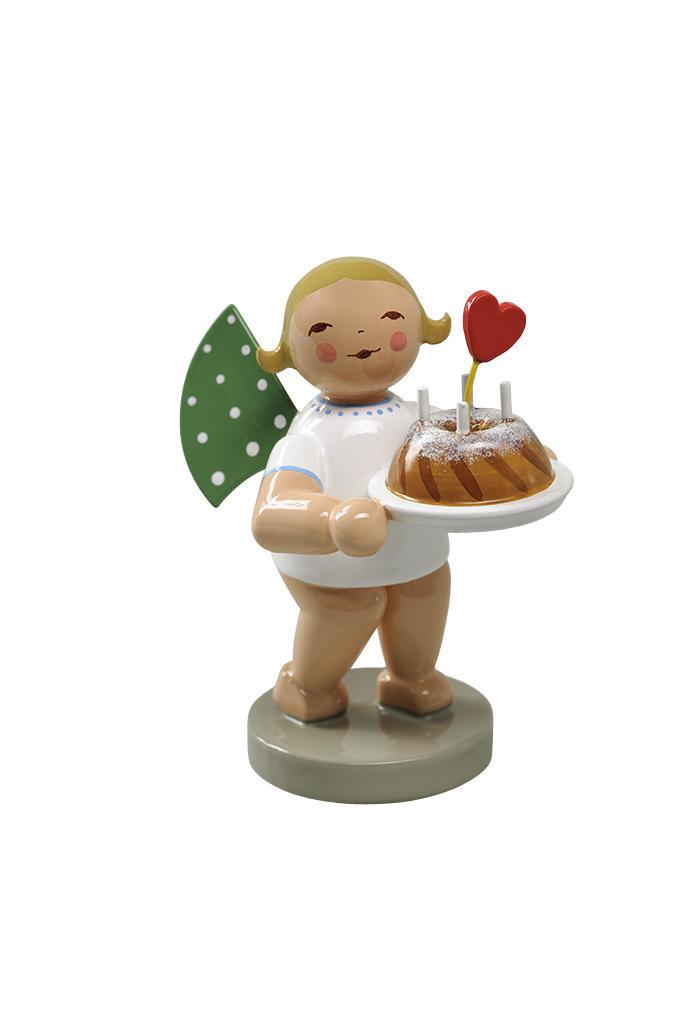 Engel - cake en hart